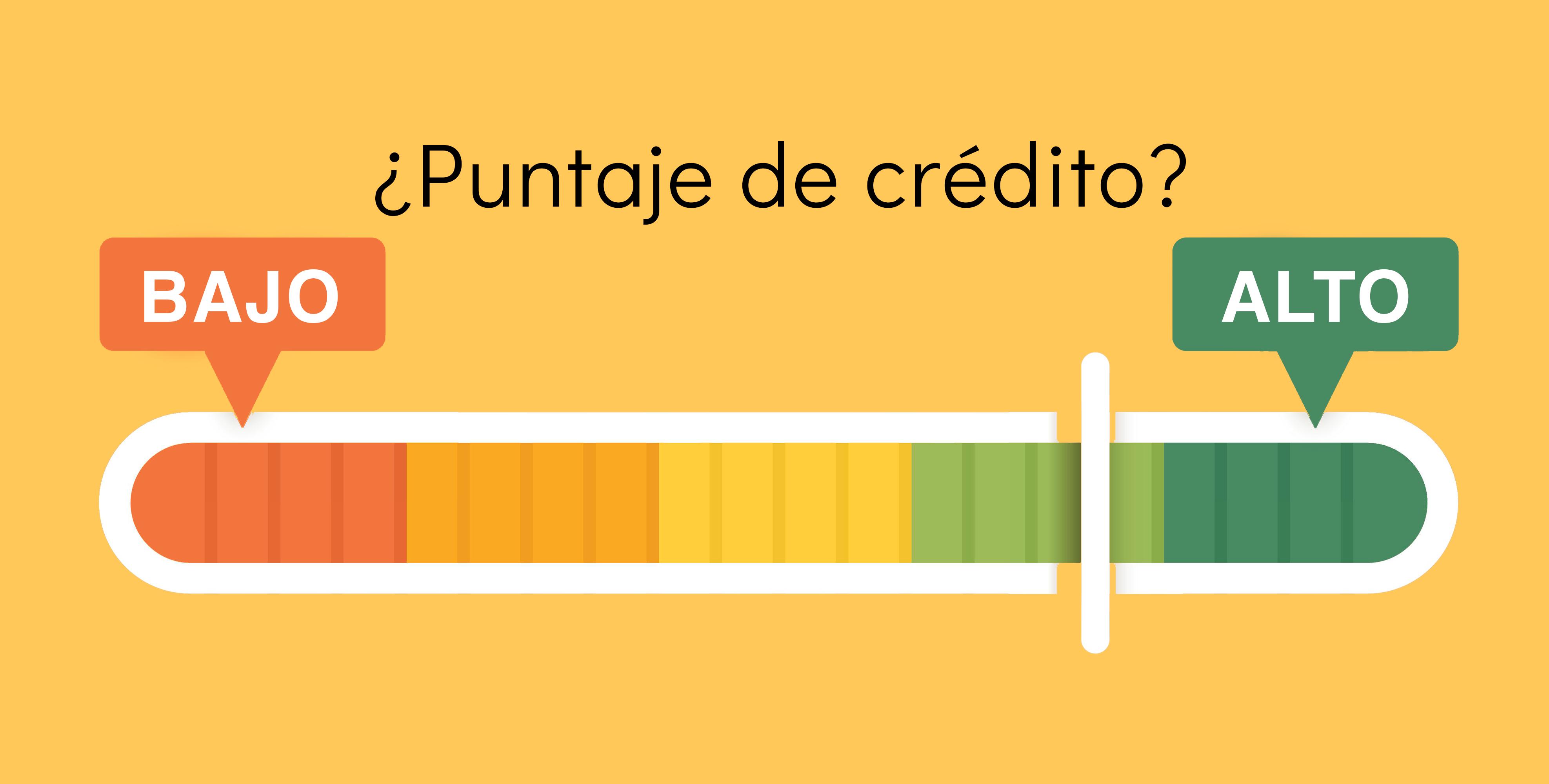 Score para puntaje de crédito