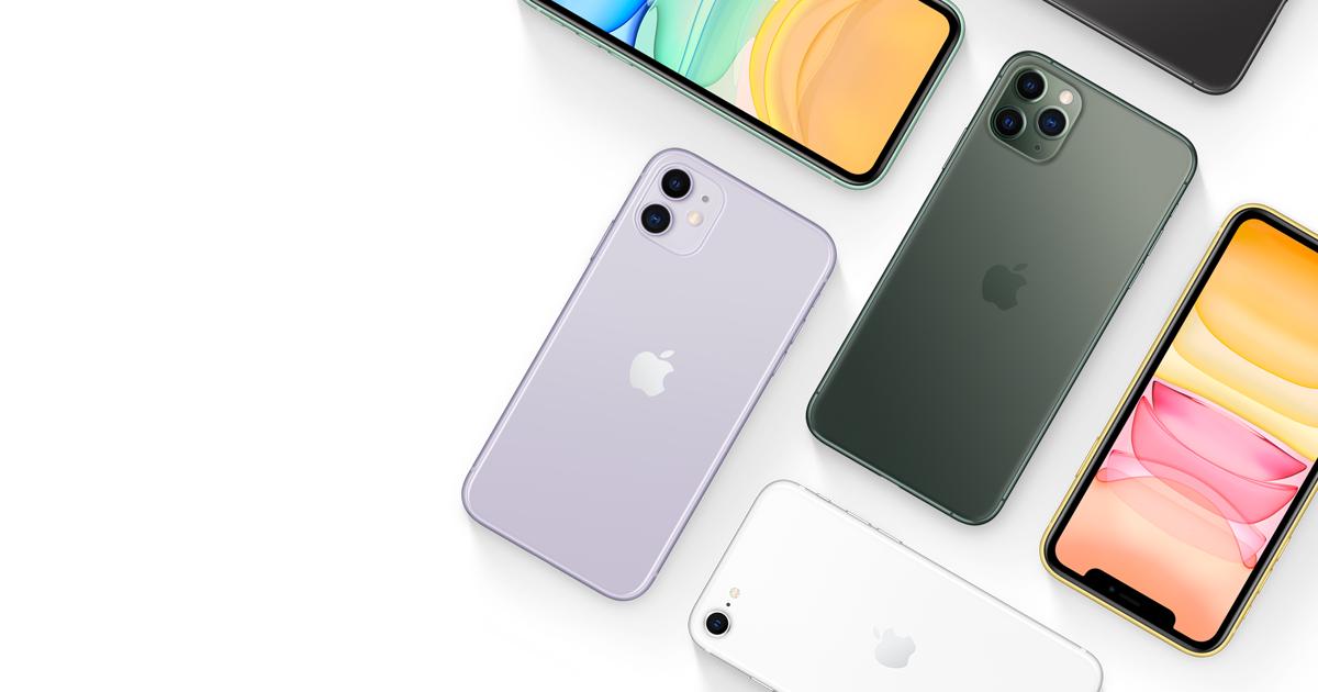 Varios modelos de iPhone